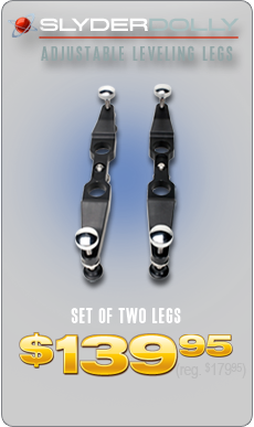 SlyderDolly - Adjustable Leveling Legs