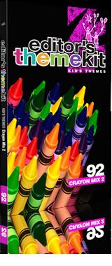 Digital Juice Editors Toolbox 1 Themekit 92 Crayon Mix 2 (1 dvd)