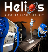 Digital Juice Helios 3-Point Lighting Kit