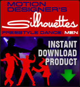 Motion Designers Silhouettes Freestyle Dance: Men