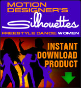 Motion Designers Silhouettes Free Style Dance - Women