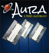 Aura Three-Point Lighting Kit