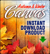 Autumn and Winter Canvases