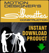 Motion Designers Silhouettes Construction