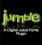 Digital Juice Fonts: Jumble - a Plug-In for Juicer