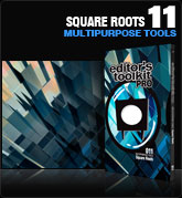 Editors Toolkit Pro Single 011:  Square Roots