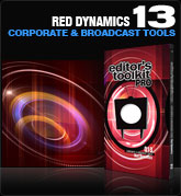 Editors Toolkit Pro Single 013:  Red Dynamics