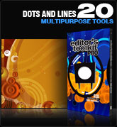 Editors Toolkit Pro Single 020: Dots & Lines