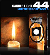 Editors Toolkit Pro Single 044: Candle Light