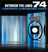 Editors Toolkit Pro Single 074: Between The Lines