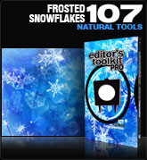 Editors Toolkit Pro Single 107: Frosted Snowflakes