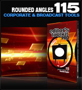 Editors Toolkit Pro Single 115: Rounded Angles