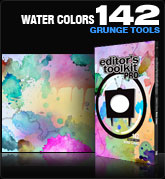 Editors Toolkit Pro Single 142: Water Colors