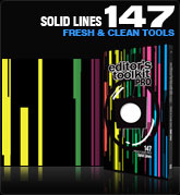 Editors Toolkit Pro Single 147: Solid Lines