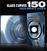 Editors Toolkit Pro Single 150: Glass Curves