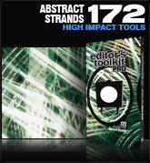 Editors Toolkit Pro Single 172: Abstract Strands