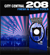 Editors Toolkit Pro Single 208: City Central