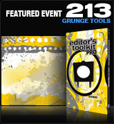 Editors Toolkit Pro Single 213: Featured Event