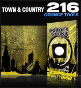Editors Toolkit Pro Single 216: Town and Country
