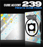 Editors Toolkit Pro Single 239: Cube Accent