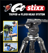 GoStixx 75mm Carbon Fiber Tripod System & Fluid Head
