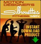 Motion Designers Silhouettes Fitness: Men