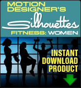 Motion Designers Silhouettes Fitness: Women