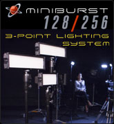 MiniBurst 3-Point Lighting System