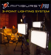 Miniburst Pro 3-Point Lighting Kit