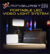 MiniBurst 504 LED Light Kit (with FREE Deluxe Carry Bag)