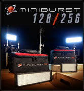 MiniBurst 128 and 256 LED Lights