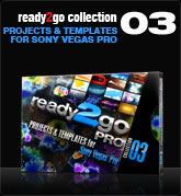 Ready2Go Collection 3 (for Sony Vegas)
