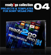 Ready2Go Collection 4 (for Sony Vegas)