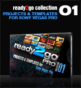 Ready2Go Collection 1 Pro (for Sony Vegas)