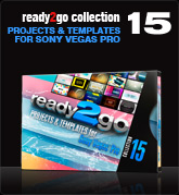 Ready2Go Collection 15 (for Sony Vegas)