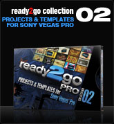Ready2Go Collection 2 (for Sony Vegas)