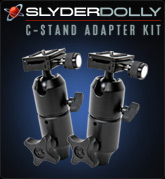 Slyder Dolly C-Stand Adapter Kit