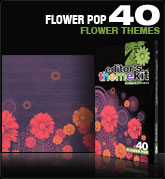 Digital Juice - Editors Themekit 40 Flower POP (1 dvd)