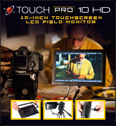 Touch Pro 10 HD Field Monitor
