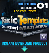 Toxic Templates Collection 1 (for After Effects)
