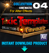 Toxic Templates Collection 4: Cinematic (for After Effects)