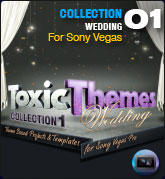 Toxic Themes Collection Wedding (for Sony Vegas Pro)