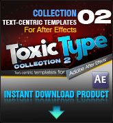 Toxic Type Collection 2 (for After Effects)