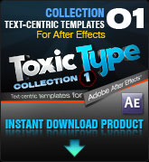 Toxic Type Collection 1 (for After Effects)