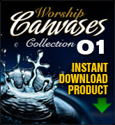 Worship Canvases Collection 1