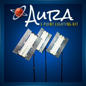 Aura 3-Point Lighting Kit