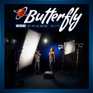 DJ Butterfly Frame Kit