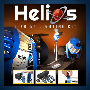 Helios 3-Point Lighting Kit