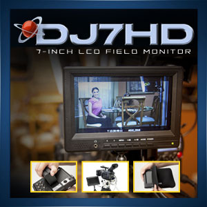 DJ7HD LCD Monitor