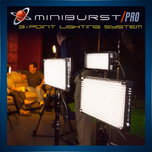 Miniburst Pro 3-Point Light Kit